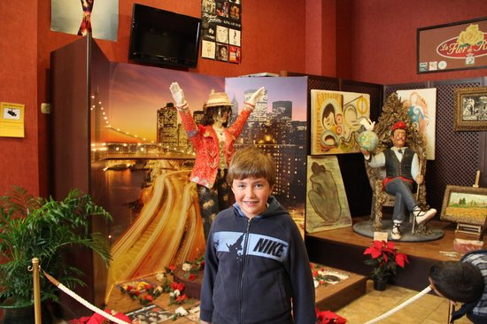 Museo del Azúcar: Michael Jackson y Dalí hecho en Azúcar