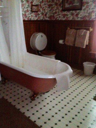 Geiger Victorian Bed & Breakfast: One of the special room baths