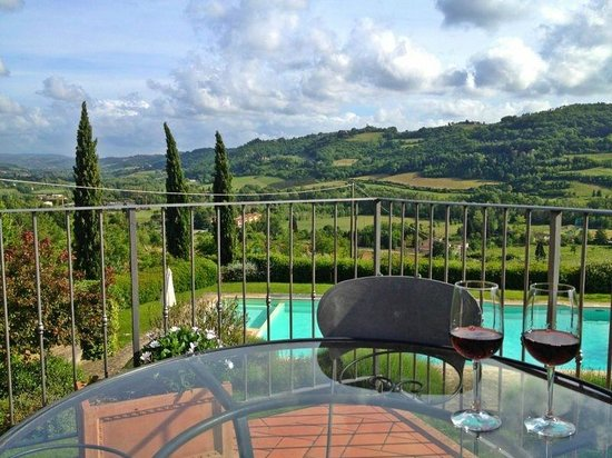 Relais Poggio Borgoni : Il panorama