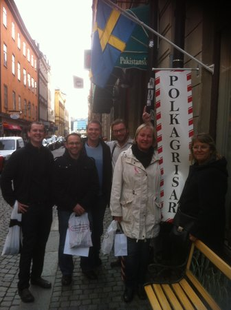 FoodTours.eu Stockholm: polkagris fabriken