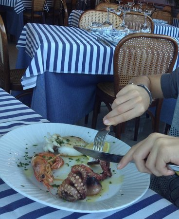 Al Buco: grigliata di pesce