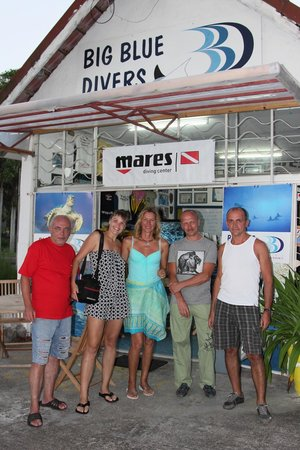 Big Blue Divers: Dive center at Beau Vallon