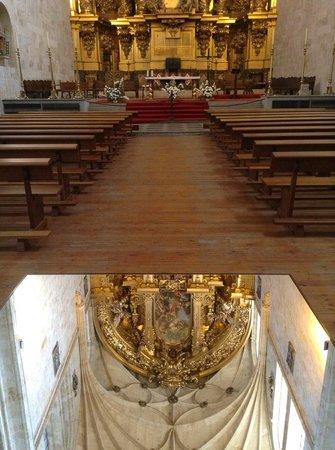 St. Stephen's Convent (Convento de San Esteban): Reflejo del retablo