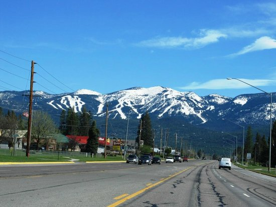 The Great Northern Bar and Grill: Entering Whitefish, Montana