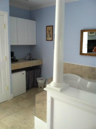 Hampton Terrace Bed and Breakfast Inn: Jaccuzzi / kitchenette area