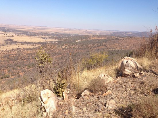 Vredefort Dome: Great view