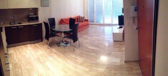 Valencia Central Apartments: salón