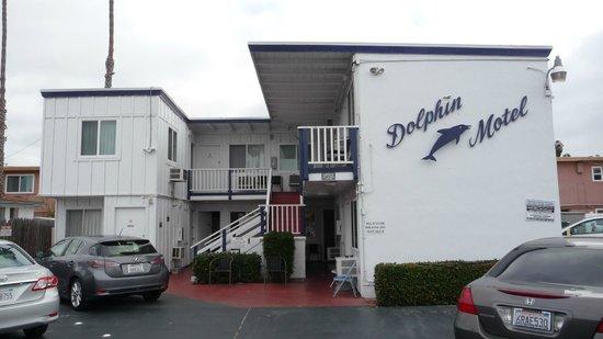Dolphin Motel: Vista frontal