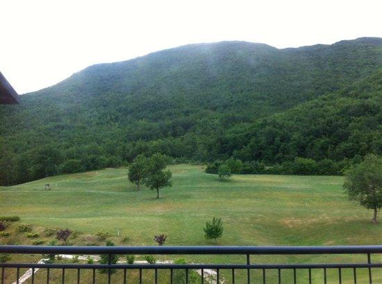San Donato Golf Resort & Spa: dal balcone