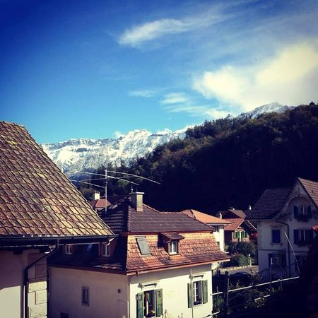 Hotel Alphorn : view from the balcony