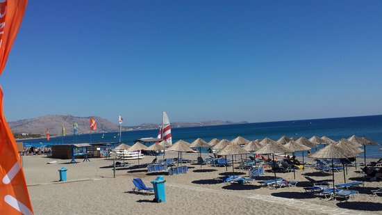 Mitsis Rodos Maris Resort & Spa: the beach