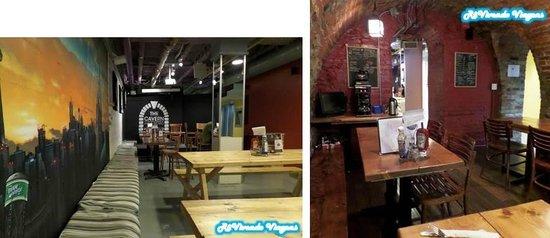 Hostelling International Toronto: Bar do hostel