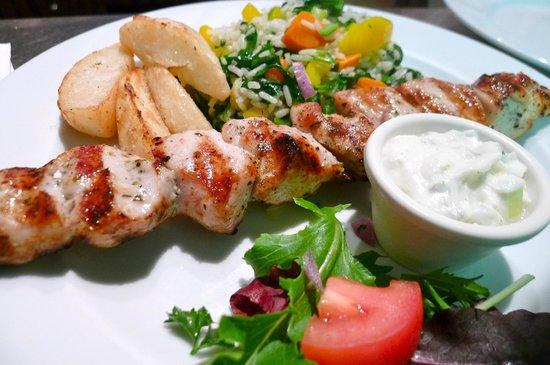 Kalamata Greek Taverna: Chicken Souvlaki