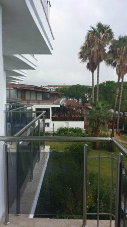 Atlantique Holiday Club: aussicht vom zimmer