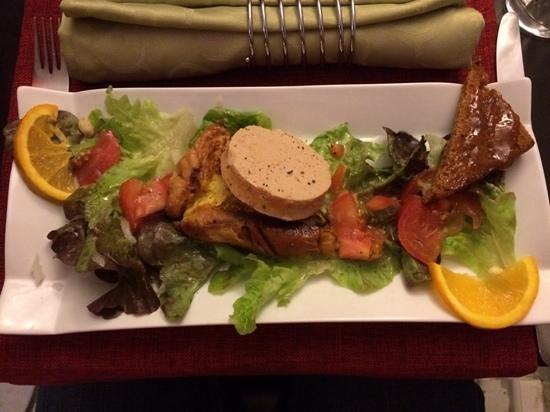 Du Cote de Chez Swann : brioche et son foie gras