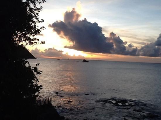 sunset at Cap Maison