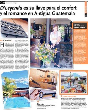 D'Leyenda Hotel: Es una alegría compartir con ustedes nuestra publicación en G21 de Siglo 21! Muchas gracias!