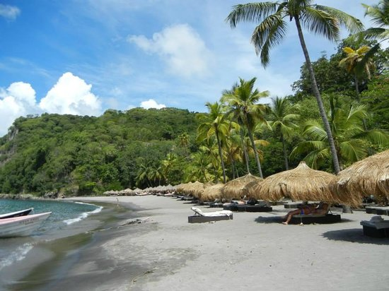 Rooms: The Anse Chastanet/Jade Moutain Beach