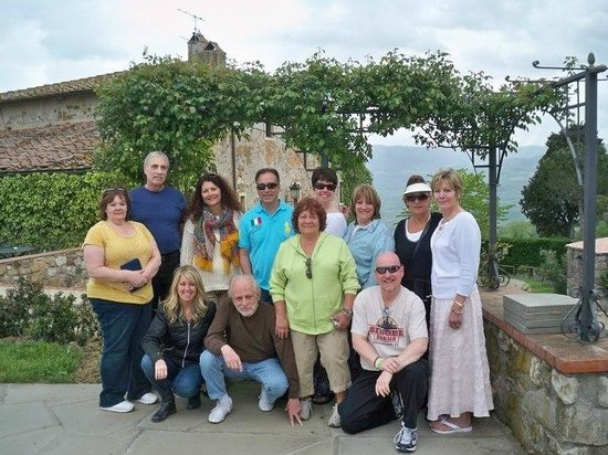 Fattoria Lavacchio: Our glorious day under the Tuscan sun!