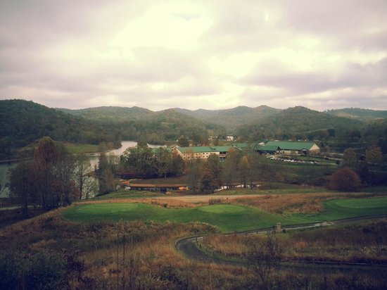 West Virginia: Stonewall Jackson State Park - view from Club House