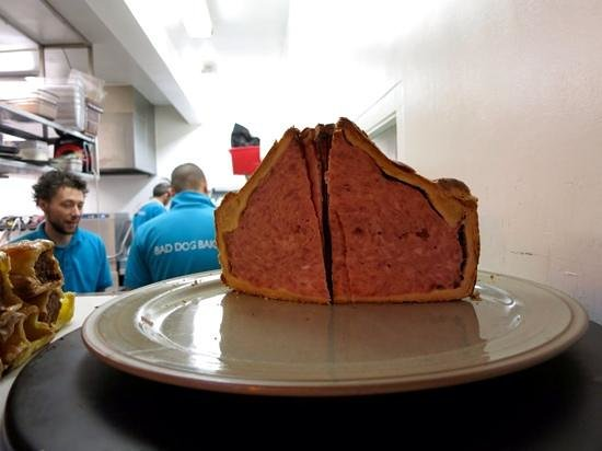 Chesters By The River: a giant of a pork pie