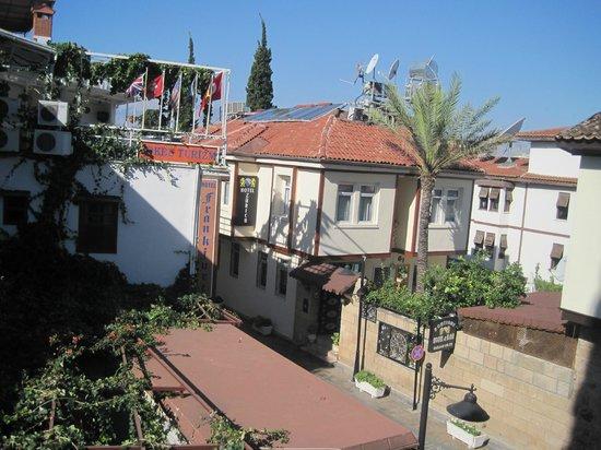 Dedekonak Pansiyon: View from my room