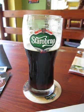 Vytopna Railway Restaurant - Starobrnenska: Отменное пиво местной пивоварни, которая находится в нескольких метрах от ресторана