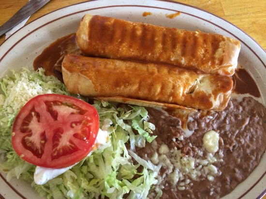 Los Abuelitos Mexican Restaurant : Monday lunch special. $6.95