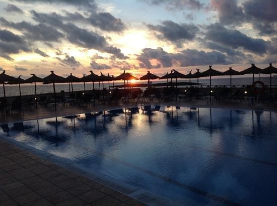 THB Sur Mallorca: smuk solnedgang