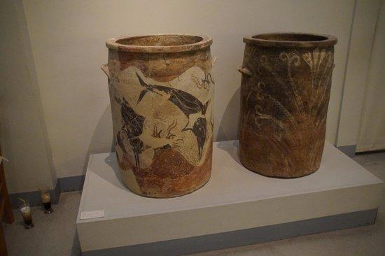 Museum of Prehistoric Thera: Musée préhistorique de Thera