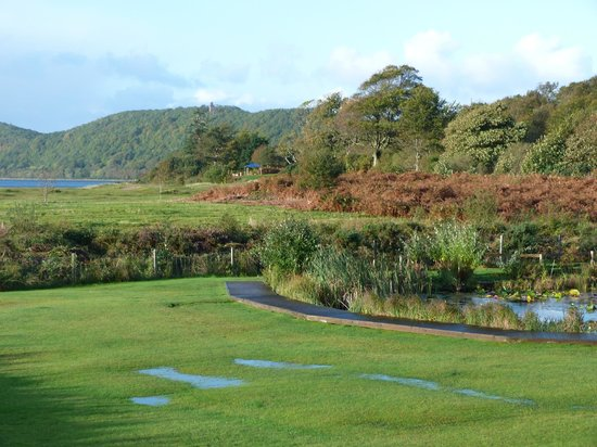 Tralee Bay Holiday Park: View from Mull lodge