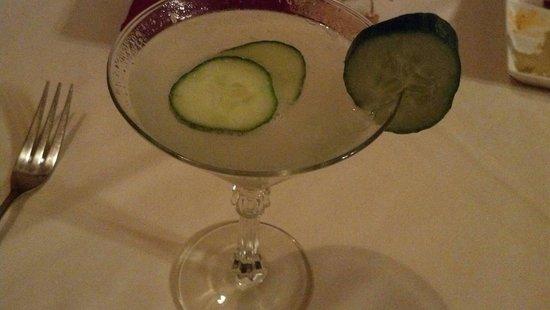 Briarhurst Manor Estate: Cucumber Martini