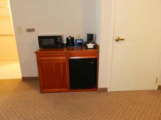 Hilton Garden Inn Elmira / Corning: Microwave/Refrigerator