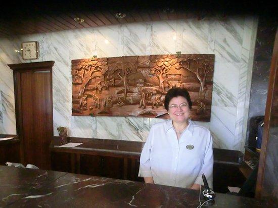 Hotel Coronado Thalasso & Spa : Maria Magdalena, die freundliche Chefin !