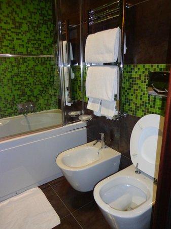 Hotel Memphis: Banheiro do hotel