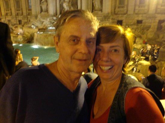 Hotel Memphis: Fontana de Trevi