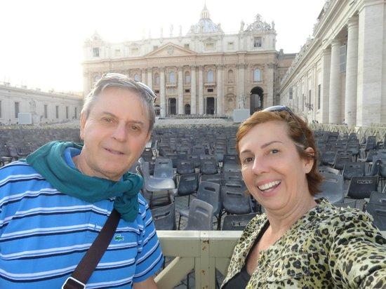 Hotel Memphis: Vaticano maravilhoso
