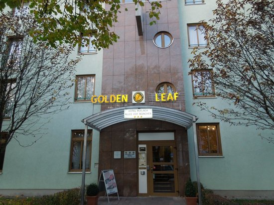Das Golden Leaf Hotel Perlach Allee Hof: front of the hotel
