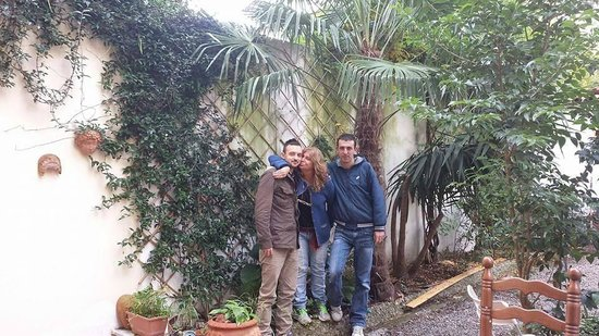 """Garden Florence : Io Rita e Alessio al Bed and Breakfast """"Ninna Nanna"""""""