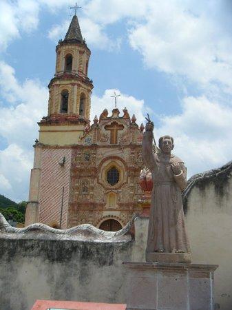 Missions franciscaines : MISIÓN TANCOYOL Y SUS PILASTRAS ESTÍPITES