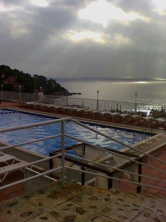 Hotel Roger de Flor Palace: Vistas desde la terraza