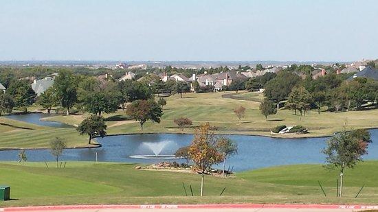 The Westin Stonebriar Hotel & Golf Club: View from verandah - Westin Stonebriar Hotel