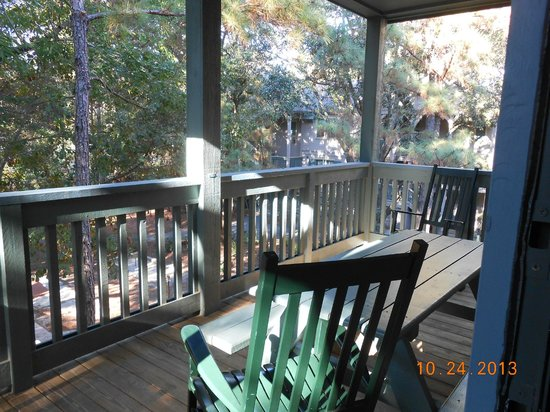 Disney's Hilton Head Island Resort: Patio view from Master Bedroom