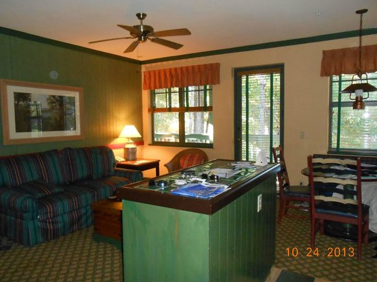 Disney's Hilton Head Island Resort: Living Area
