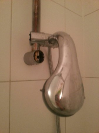 Euro Queens Hotel: Shower...or lack of