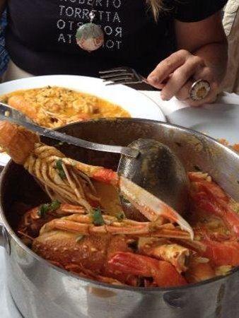Restaurante O Infante: Mucho marisco pero poco sabroso el arroz