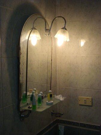 Hotel del Tejadillo: salle de bain