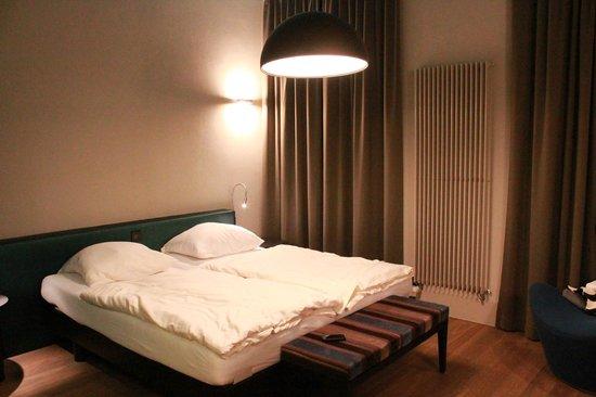 Hotel Bellevue-Terminus : cozy beds,,,,