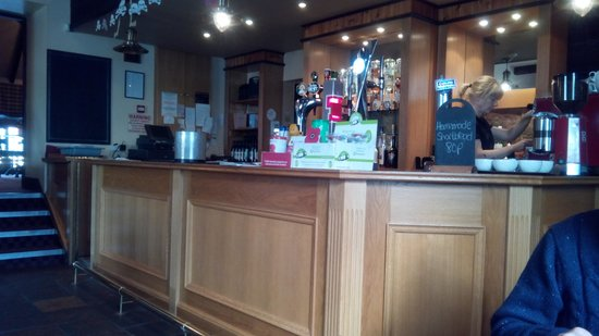 The Carters Rest: The bar area