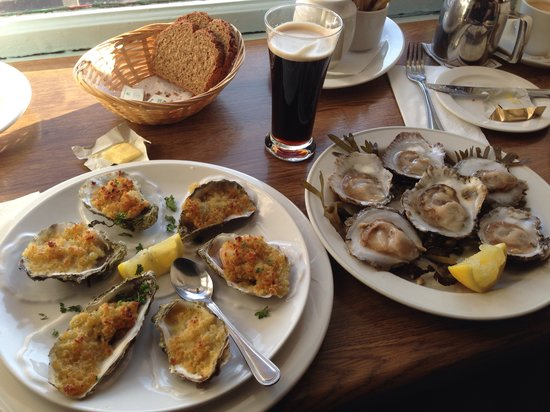 Morans Oyster Cottage: Oyster perfection